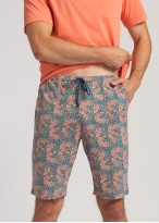 Pijama barbati bumbac Gilmore portocaliu