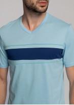 Pijama bumbac barbati blue