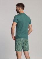 Pijama bumbac scurta barbati Gordon sea pine