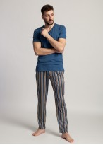 Pijama barbati modal maneca scurta Urban Story insign