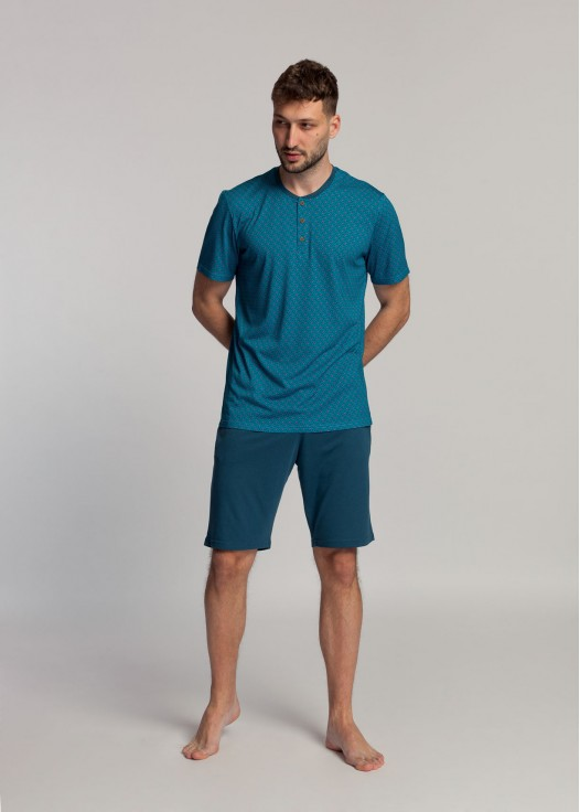 Pijama scurta barbati bambus Derek
