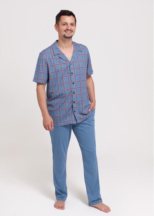 Pijama Denim Tartan