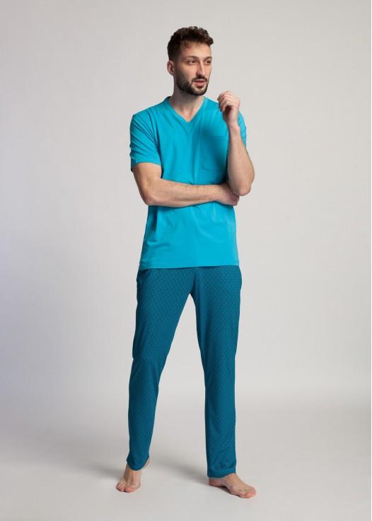 Pijama barbati bambus Derek Algiers