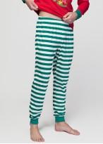 Pijama barbati Craciun Elf rosu