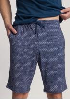 Pijama scurta barbati Garet Modal Maroccan Blue