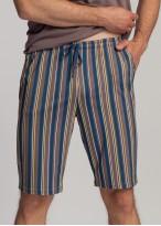 Pijama barbati modal cu nasturi Urban Story taupe