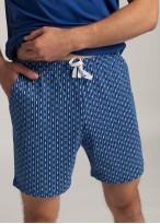 Pijama cu nasturi barbati bumbac organic Fishes