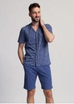 Pijama scurta barbati bumbac Eugen