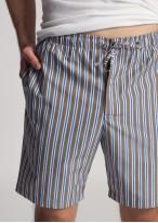 Pantaloni scurti dungi maro