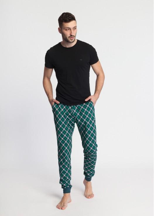 Pantaloni pijama modal Green Tartan