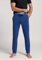 Pantaloni pijama barbati bumbac organic Blue Stripes