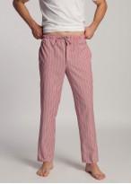 Pantaloni pijama barbati dungi rosii