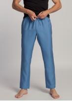 Pantaloni barbati eucalipt Breeze bleu