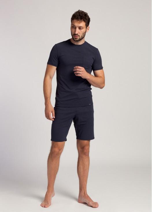 Pantaloni scurti barbati modal Soft Touch bleumarin
