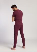 Pantaloni barbati modal Soft Touch bordo