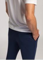 Pantaloni trening barbati bleumarin