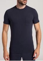 Tricou barbati modal Soft Touch bleumarin