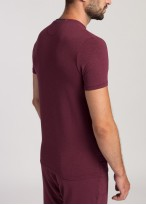 Tricou barbati modal Soft Touch bordo