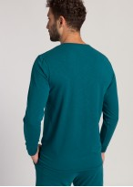 Bluza nasturi barbati modal Soft Touch verde