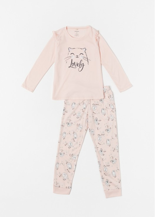 Pijama Cats Bumbac organic