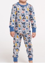 Pijama FUNKY PUPPIES - Bumbac organic