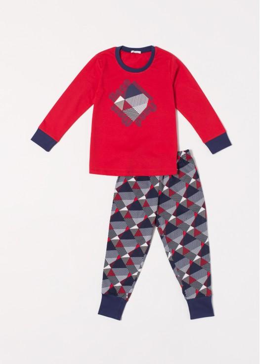 Pijama bumbac baieti Gilbert