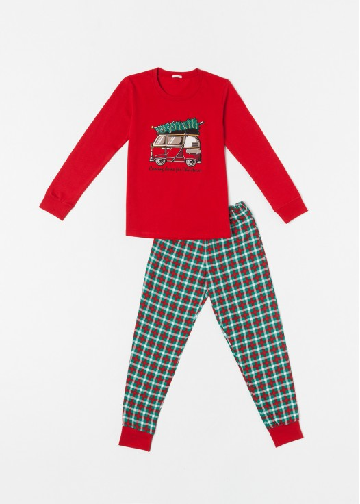 Pijama copii Craciun Family