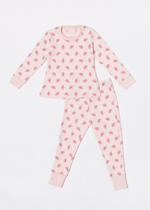 Pijama copii modal Peacock imprimat