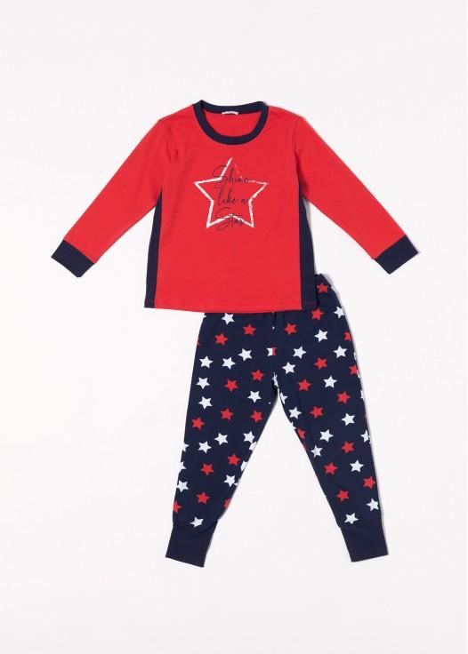 Pijama bumbac fetite Grace