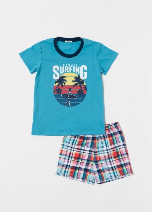 Pijama baieti bumbac Glen