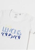 Pijama copii bumbac organic Fruity Lemons