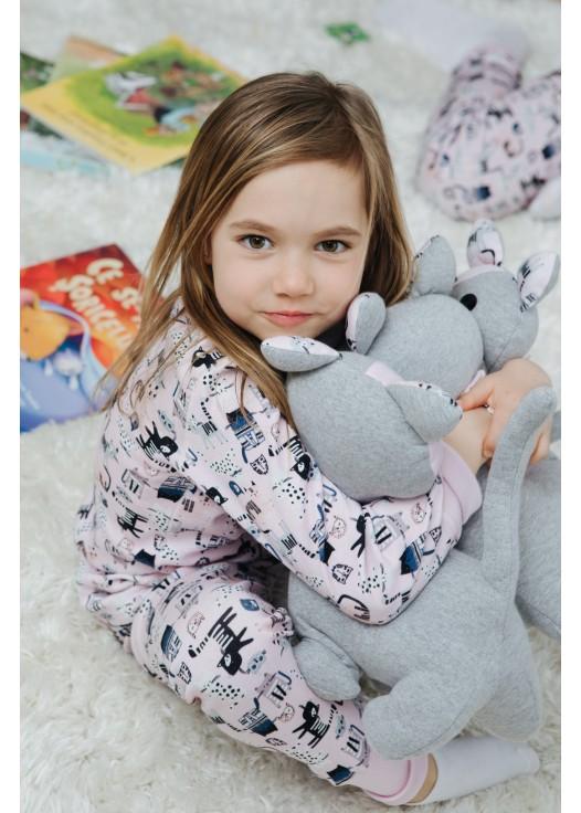 Pijama FUNKY KITTENS - Bumbac organic