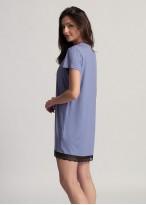 Camasa de noapte vascoza Edith lavender