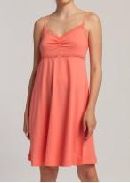 Camasa noapte modal cu bretele Danielle Shell Pink