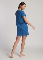 Camasa noapte modal Danielle Star Sapphire