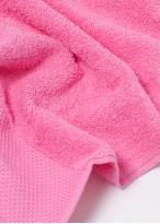 Prosop bumbac baie roz