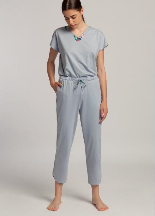 Pantaloni dama modal Beatrice Lotus