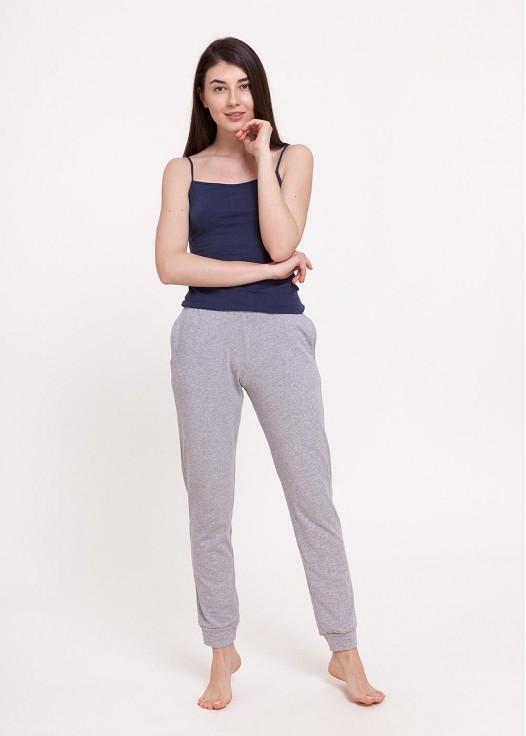 Pantaloni dama Soft Touch gri