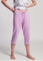 Pantaloni bumbac gravide lila