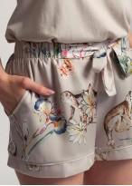 Pantaloni dama scurti satin Beatrice Jungle
