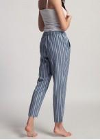 Pantaloni dama in Cool Flax dungi denim