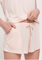 Pantaloni scurti dama eucalipt Breeze roz2