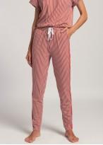Pantaloni dama modal Urban Story red stripes