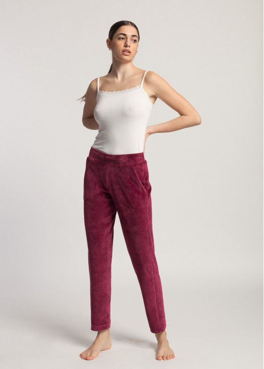 Pantaloni catifea dama Debora
