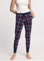 Pantaloni pijama dama bumbac cu mansete Dilan