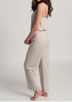 Pantaloni lungi dama modal Beatrice Jungle