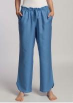 Pantaloni dama eucalipt Breeze bleu