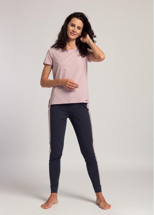 Pantaloni dama modal Soft Touch bleumarin