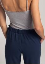 Pantaloni trening dama bleumarin