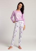 Pijama dama maneca lunga Dragonflies lilac